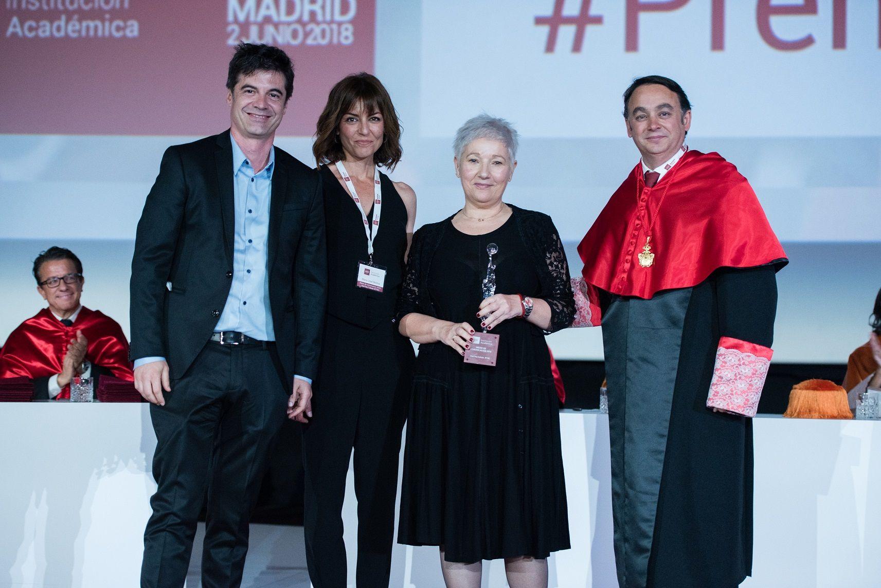 Foto de Ignacio Echeverría, Deloitte, Ágatha Ruiz de la Prada y