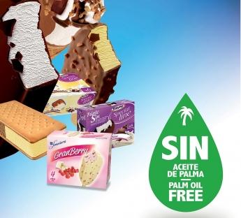 Somosierra y Royne, los primeros helados 100% libres de aceite de palma