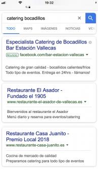Foto de Ejemplo Visualización Anuncio en Google