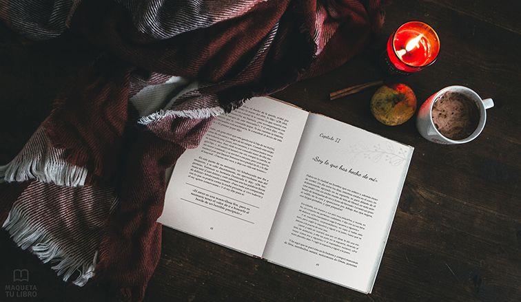 Foto de Plantilla especialmente para libros de literatura romántica