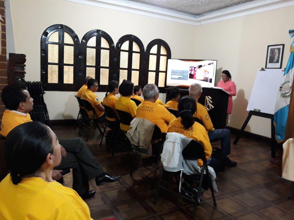 Fotografia Ministros Voluntario de Scientology en Guatemala