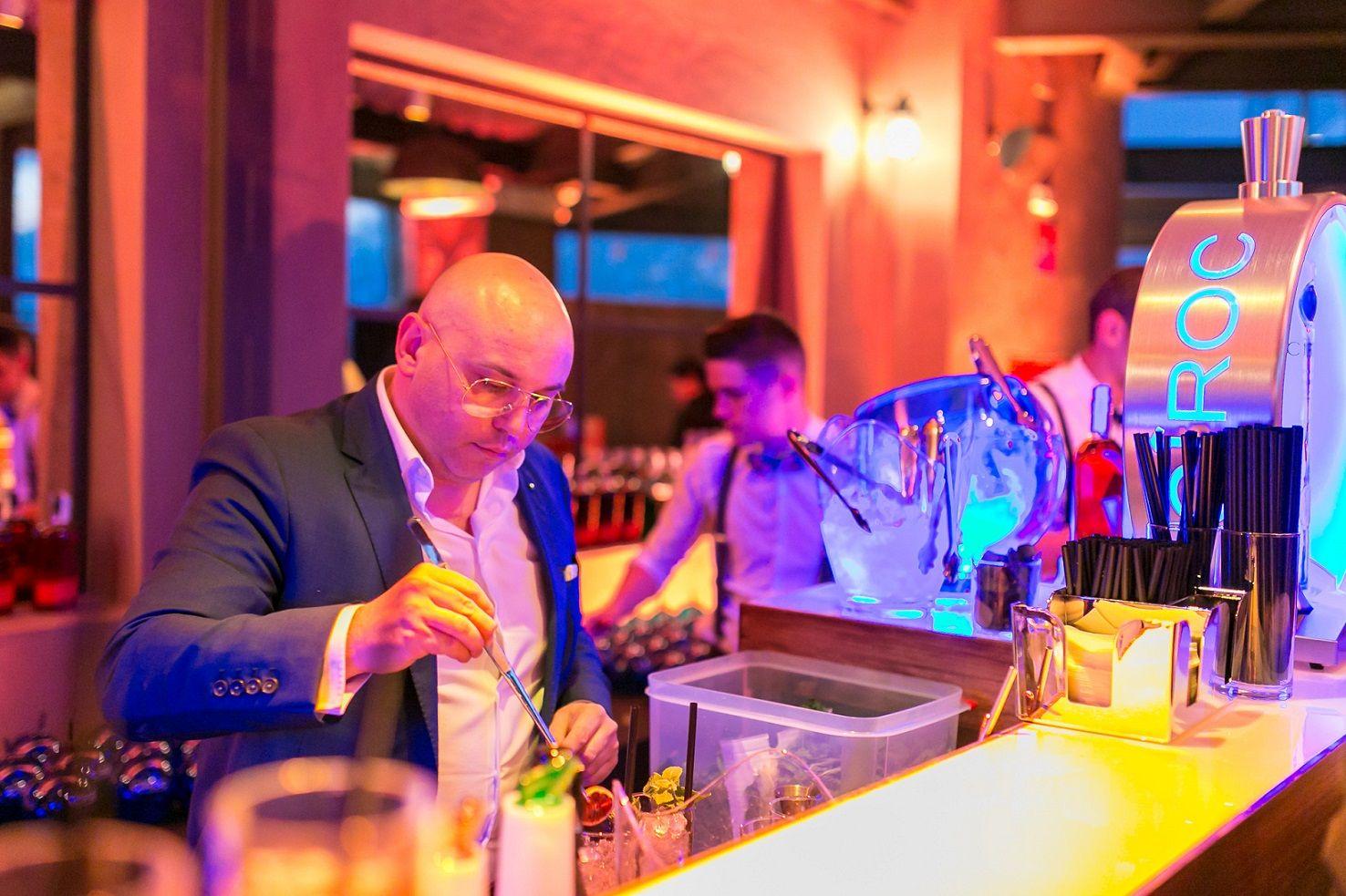 Foto de El prestigioso bartender Luca Anastasio