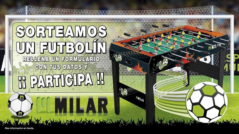 Foto de Milar Galicia sortea un futbolín