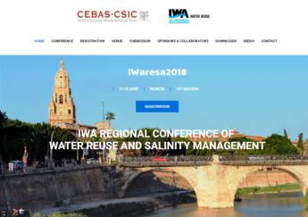 iWARESA 2018 aborda la escasez de agua por el cambio climático