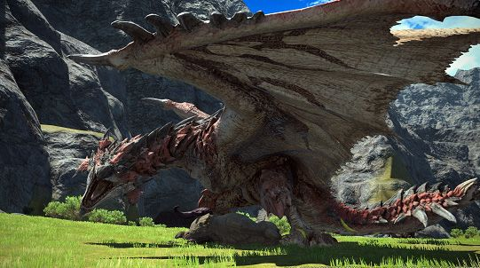 Foto de Rathalos- Monster Hunter en Final Fantasy XIV online