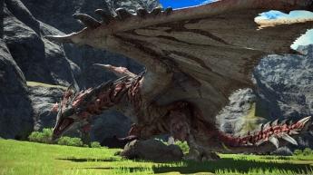 Rathalos- Monster Hunter en Final Fantasy XIV online