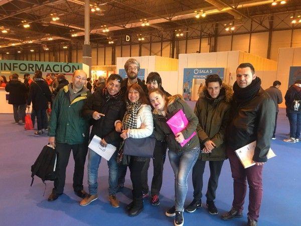Foto de Participantes del Plan formativo para personas con