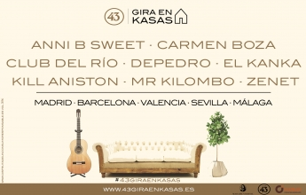 Comienza el ciclo 43 Gira en Kasas a ritmo de Carmen Boza. Su concierto más íntimo, creativo e inspirado