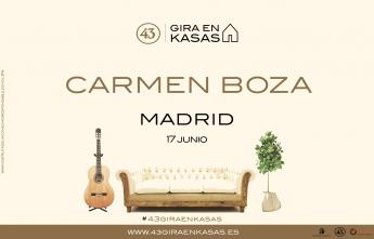Foto de CARTEL CARMEN BOZA_MADRID_17_JUNIO_2018
