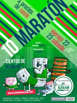 10 Maratón ofertas colchones Aznar