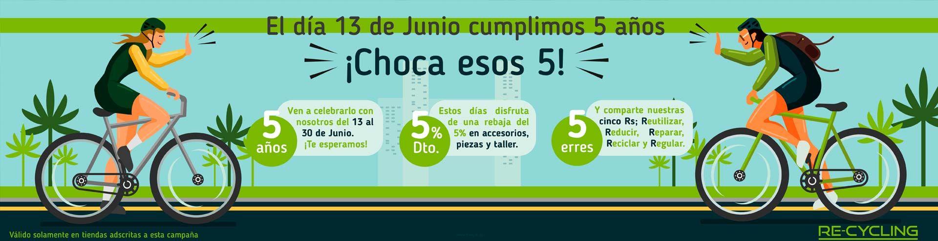 Somos Recycling celebra su quinto aniversario