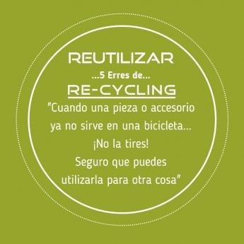 Foto de 5 erres de Recycling: Reutilizar