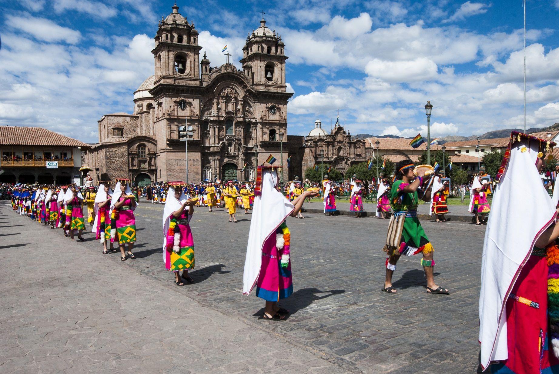 Fotografia Inti Raymi