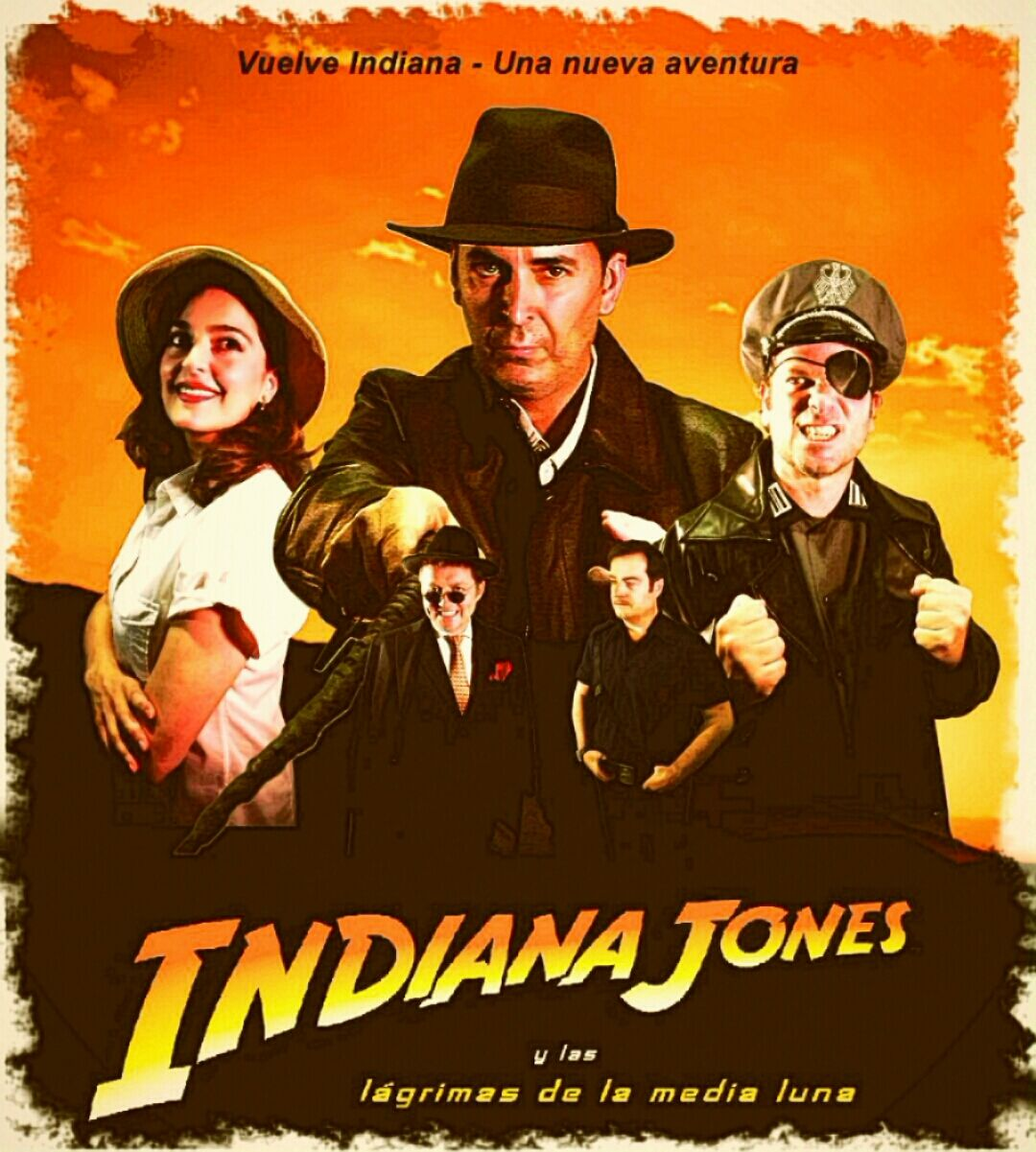 Primer Premio del I Festival de Cortos sobre Indiana Jones en Guadix en el XXX aniversario del rodaje