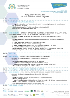 Compromiso Asturias XXI celebra su 10 aniversario con una jornada abierta a todos los asturianos