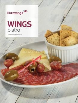 Eurowings incluye 4 nuevos productos en su menú a bordo Wings Bistro