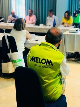 Melom Obras y Reformas prevé una facturación de 50 millones de euros en cinco años