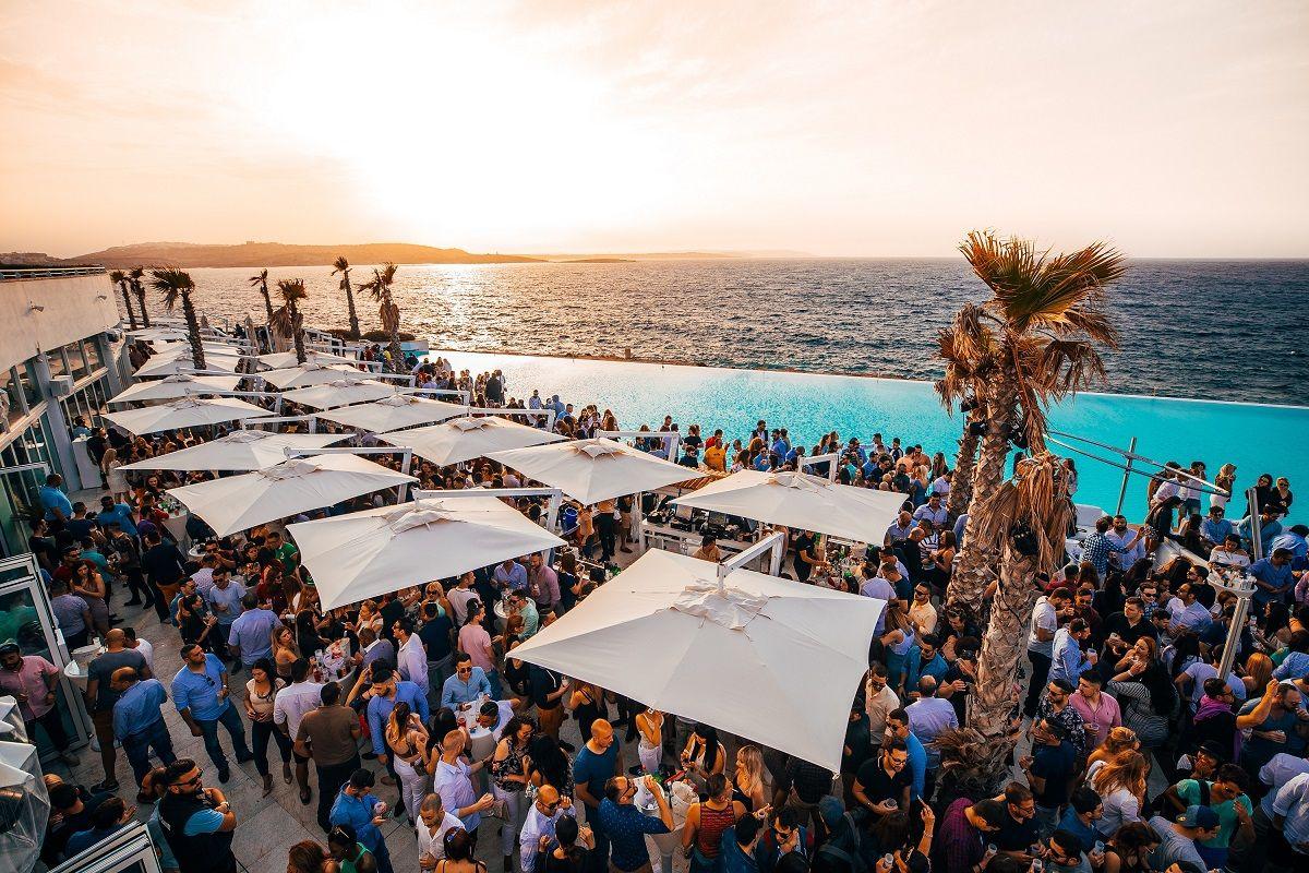Foto de Beach Clubs en Malta
