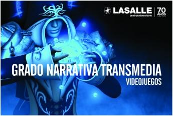 La Salle presenta su Grado en Diseño y Gestión de Proyectos Transmedia para la creación de videojuegos