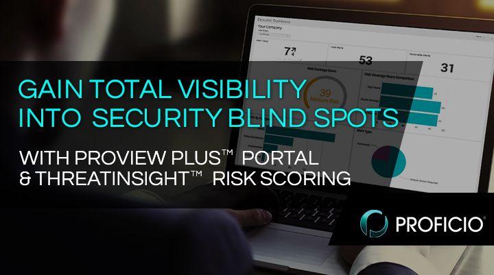 El nuevo portal ProView Plus(TM) de Proficio ofrece a los clientes puntaje de riesgo ThreatInsight(TM)