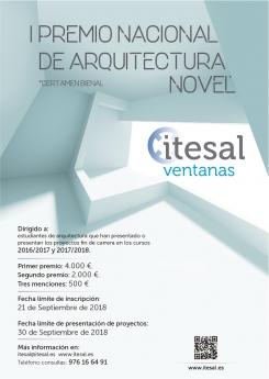 ITESAL convoca el I Premio Nacional de Arquitectura Novel ITESAL VETECO 2018