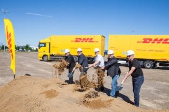 Inicio de las obras del nuevo centro logístico de DHL Freight en Hannover