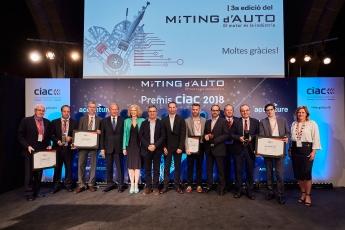 Foto de MÍTING-d'AUTO-2018_Foto familia ganadores Premios CIAC