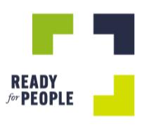 Foto de Logo Ready for People