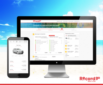 Record go lanza su nueva web: alquilar un coche en solo 5 clics es posible