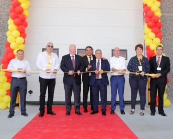 Inauguración del nuevo almacén de DHL Freight en Turquía