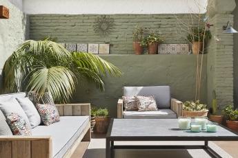 Reforma de una terraza diseñada por Coblonal Interiorismo en Barcelona
