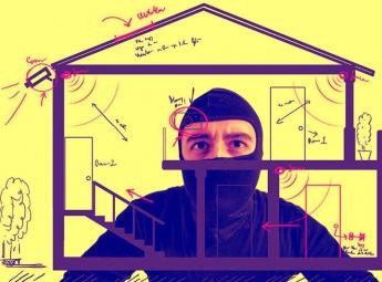 Evitando robos en domicilios