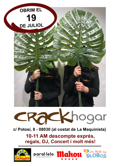 Crack hogar inaugura una Concept Store en Barcelona
