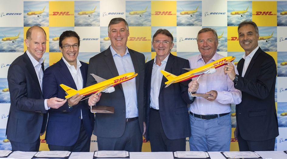 DHL Express fortalece su red intercontinental con el pedido de 14 nuevos aviones Boeing 777 Freighters