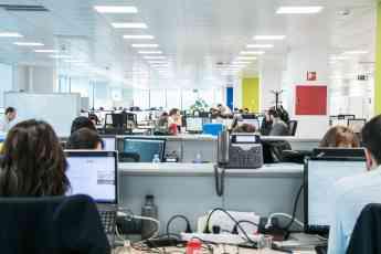 Trabajadores de la consultora especialista en soluciones digitales VASS
