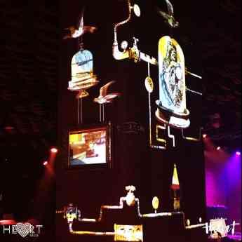 El arte multimedia de nEcKo en Heart, la experiencia creativa de los Hermanos Adrià y el Cirque du Soleil