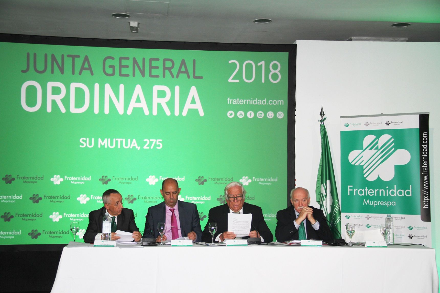 Foto de Junta General Ordinaria de Fraternidad-Muprespa