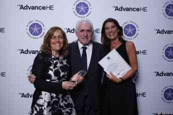 Entrega del Global Teaching Excellence Award 2018