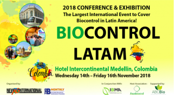 Colombia acogerá Biocontrol LATAM 2018