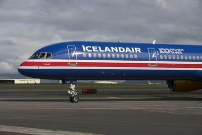 Fotografia Nuevo Avión Þingvellir de Icelandair