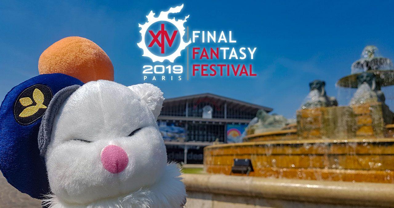Foto de Anuncio del Final Fantasy XIV Fan Fest 2019 en París