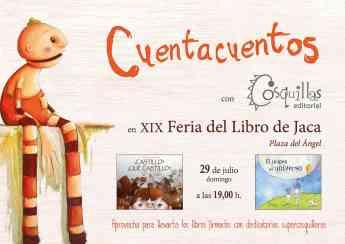 Editorial Cosquilla acude a la XIX Feria del Libro de Jaca
