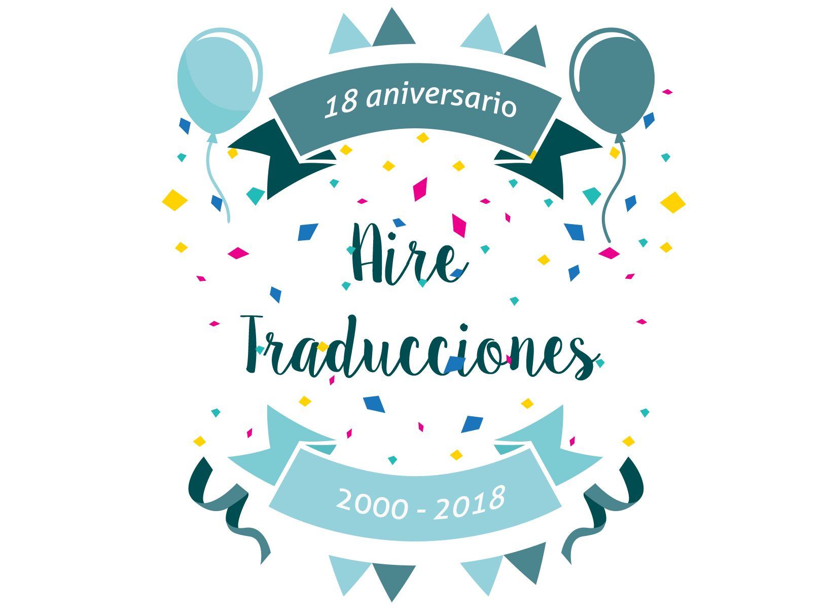 Foto de 18 Aniversario - Aire Traducciones