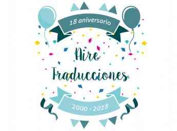 18 Aniversario - Aire Traducciones