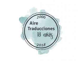 Foto de Aire Traducciones cumple 18 años