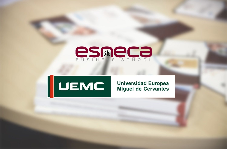 Foto de Esneca firma un acuerdo con la UEMC
