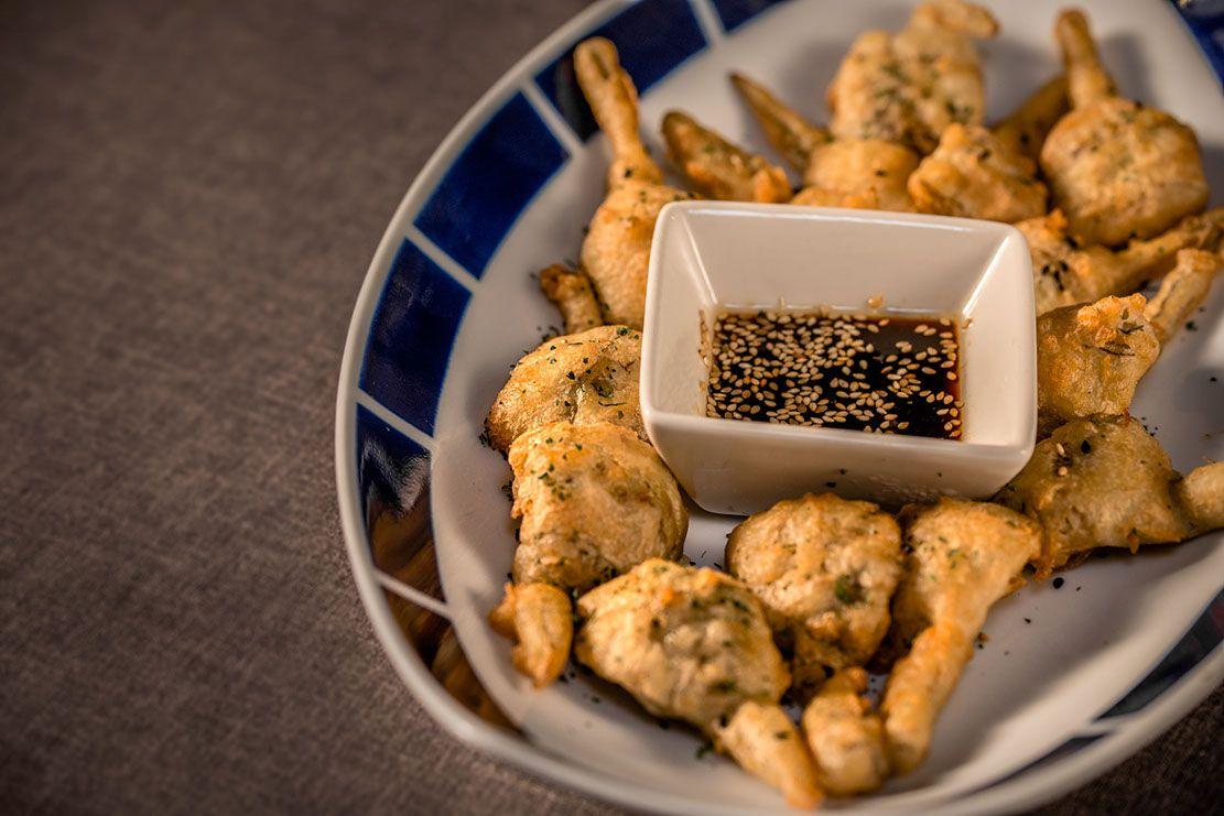 Montes de Galicia da las claves para hacer la tempura perfecta