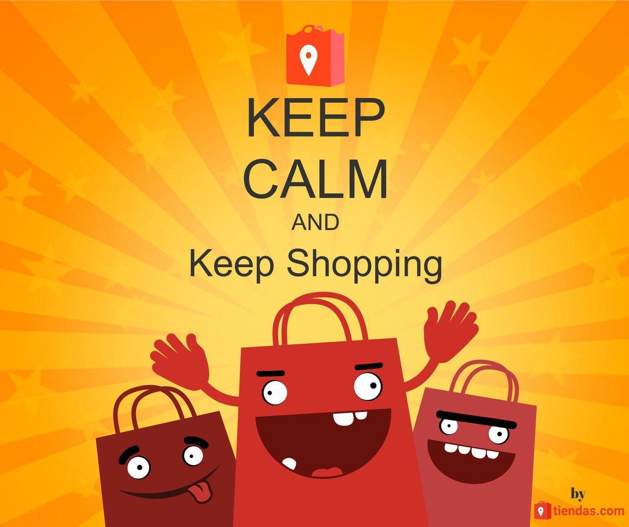 Foto de Keep calm and keep shopping