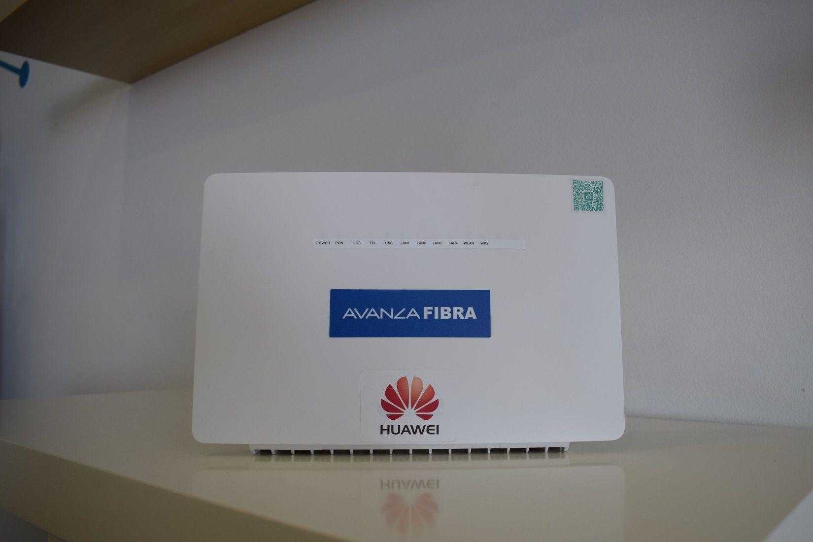 Fotografia Router wifi Avanza Fibra