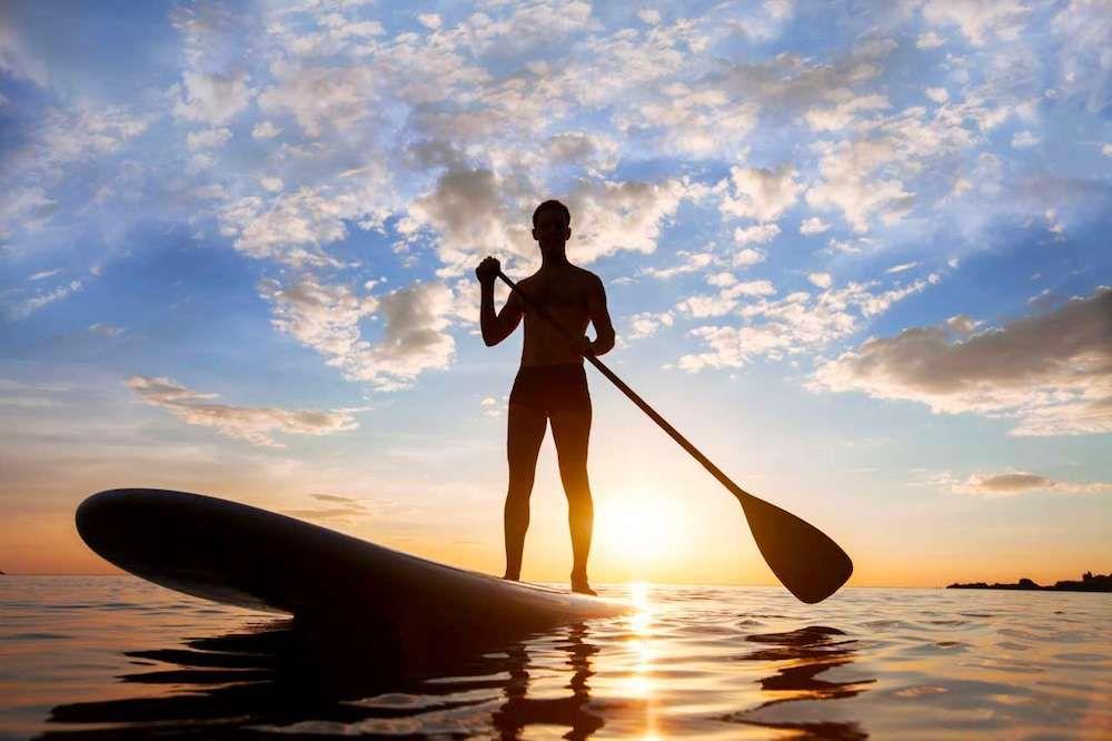 Fotografia Aprender Paddle Surf